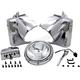 Chrome Headlamp Cowl Assembly - 24-0355