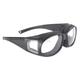 Defender Over Eyeglasses Sunglasses w/Clear Lens - 5505