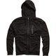 Black Transport Zip Hoody