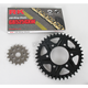 GB525GXW Chain and Black Sprocket Kit - 2108044AK