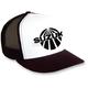 Black/White Suzuki Vintage Snapback Hat - 18-86402