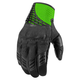 Black/Green Sanctuary Gloves