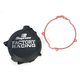 Black Factory Clutch Cover - CC-41B