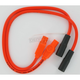 8mm Pro Orange Spark Plug Wires w/180 Degree Boot - 20834