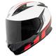 White/Red Lightspeed SS3000 Helmet