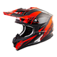 Neon Orange/Black VX-35 Krush Helmet