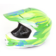 Hi-Vis Green/Blue MC-4H FG-X Talon Helmet