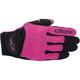 Womens Black/Rose/Violet Stella Spartan Gloves