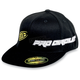 Black/Yellow PC Straight Hat