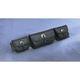 Signature Series Tri-Pouch - HD90-003BK