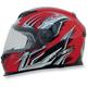 Red Multi FX120 Helmet