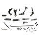 Black Stock Length Forward Control Kit - 1622-0487