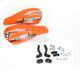 Orange Qualifier Handguards w/Plastic Mounting Hardware - 0635-1079