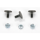 Flat Head Bolts with Lock Nuts - 620-250