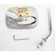 Chrome/Gold Universal Rectangluar Mirror - 20-31704A