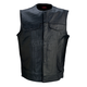 Black 338 Leather Vest