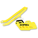 Yellow Chain Guide Block and Slider Set - 2314070005