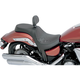 Smooth 2-Up Predator Seat w/Backrest Capabilities - 0810-1806