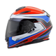 Red/White/Blue Tarmac EXO-T510 Helmet