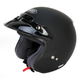 RJ Platinum-R Matte Black Helmet