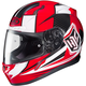 Red/White CL-17 MC-1 Striker Helmet