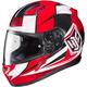 Red/White CL-17 MC-1 Striker Helmet