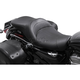 Black Leather LowIST 2-Up Seat - FA-DGE-0294
