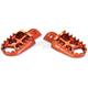 Orange Evolution Racing Footpegs - 5510OR