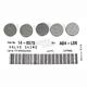 13mm Valve Shim Kit - 2.70mm - 5PK1300270