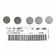 13mm Valve Shim Kit - 2.80mm - 5PK1300280