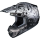 Black/Gray/Silver CS-MX 2 Graffed MC-5 Helmet