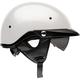 Pearl White Pit Boss Helmet