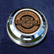 FCM 1.8 Inch Fuel Cap Coin Mount With Harley Racer 2-Sided Coin - JMPC-FC-HRACER