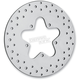 Rear 11.5 in. Stainless Steel Drilled Brake Rotor - 1710-1063