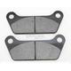 Organic Kevlar® Brake Pads - 1720-0203