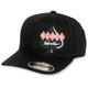 Black Logo Flex-Fit Hat