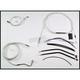 Custom Sterling Chromite II Designer Series Handlebar Installation Kit for Use w/18 in. - 20 in. Ape Hangers (w/ABS) - 387493