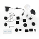 Scala Rider Q1/Q3/QZ Audio/Microphone Kit - SRAK0022