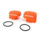 Orange 16 Master Cylinder Covers - 2449545226