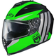 Neon Green/Gray/Black IS-17 MC-4 Grapple Helmet