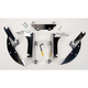 Batwing Polished Trigger Lock Hardware - MEK1923