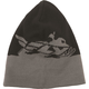 Black/Gray Snow Beanie - 351-0510