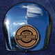 Crown 1.8 Inch Horn Cover Attachment With Harley Racer 2-Sided Coin - JMPC-HC-HRACER