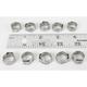 10.8 - 13.3mm Stepless Hose Clamp - 12-0076