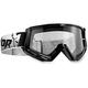Black/White Conquer Goggles - 2601-1924