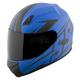 Mattte Blue Hammer Down SS700 Helmet