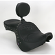 Studded Mild Stitch Low-Profile Double-Bucket Seat with Backrest - 0810-0931