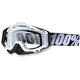 Black/White Racecraft Goggles w/Clear Lens - 50100-011-02