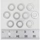 Aluminum M14 Drain Plug Washers - DPWM14.223-10