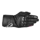 Womens Black Stells SP-8 LEather Gloves